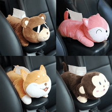 Load image into Gallery viewer, Cartoon Plushie Tissue Box