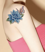Load image into Gallery viewer, 3D Scratch Waterproof Tattoo Sticker