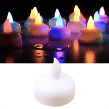 Load image into Gallery viewer, Water Sensor LED Flame Candle