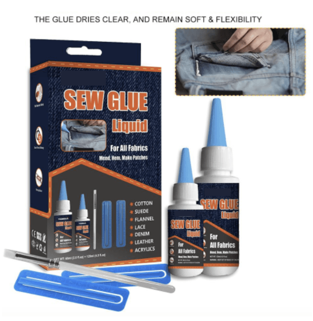 Ultra-stick Sew Glue Kit