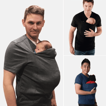 Load image into Gallery viewer, Mom and Dad Pocket Baby Shirt