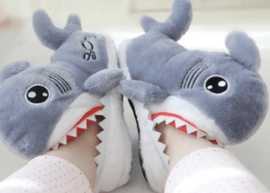 Biting Shark Indoor Slipper