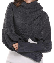 Load image into Gallery viewer, Stylish Scarf with Sleeves