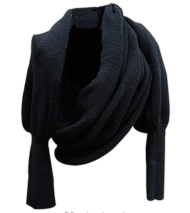 Stylish Scarf with Sleeves