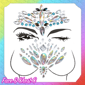 Enchanted Face Sticker Jewels
