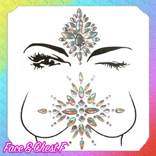 Load image into Gallery viewer, Enchanted Face Sticker Jewels