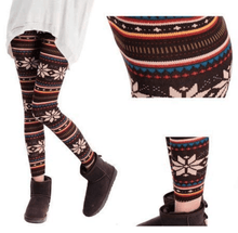 Load image into Gallery viewer, Knitted Nordic Leggings