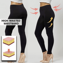 Load image into Gallery viewer, High Waist Elastic Leggings