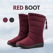 Load image into Gallery viewer, Waterproof Faux Fur Snow Boots