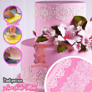 Silicone Molding Lace Mat