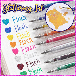 Sparkling Gel Pen Set