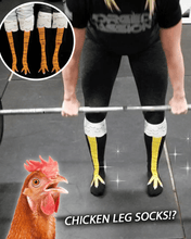 Load image into Gallery viewer, 3D Cartoon Chicken Leg Socks
