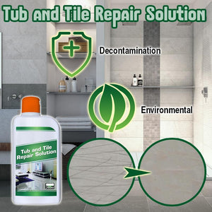 Tub and Tile Repair Solution