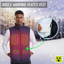 Load image into Gallery viewer, Unisex Warming Heated Vest