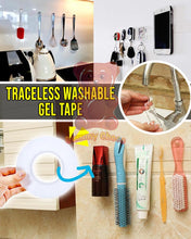 Load image into Gallery viewer, Traceless Washable Gel Tape