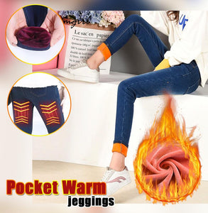Pocket Warm Jeggings