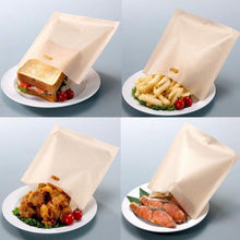 Load image into Gallery viewer, Silicone Reusable Toaster Bag 2pcs