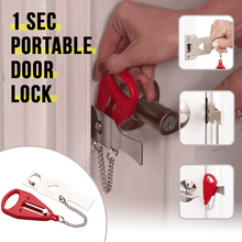 Load image into Gallery viewer, Portable Instant Door Lock