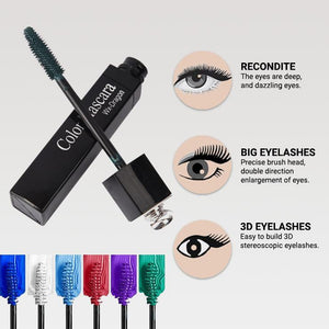 Multi Color Silk Fiber Mascara