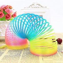 Load image into Gallery viewer, Magic Plastic Rainbow Slinky