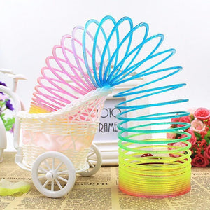Magic Plastic Rainbow Slinky