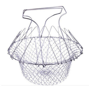 Easy Stainless Cooking Basket