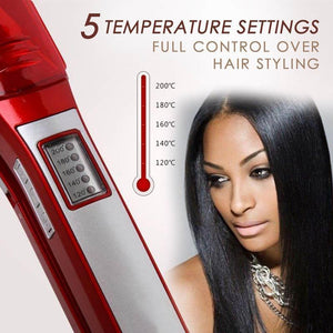 Powerful Steam Hair Straightener