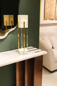 Looshaus Marble Table Lamp - Luxury Marble Furniture