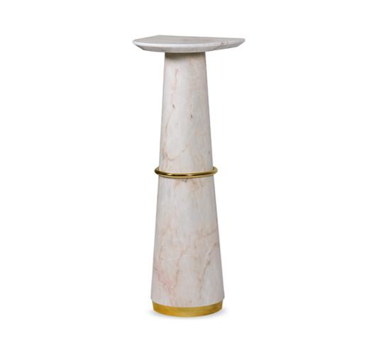 Agra Marble Display Stand - Luxury Marble Furniture