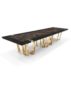Apotheosis XL Marble Dining Table - Luxury Marble Furniture