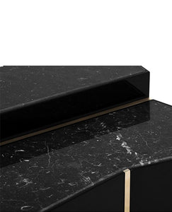 Beyond Marble Side Table - Luxury Marble Furniture