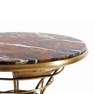 Bird House Marble Side Table - Luxury Marble Furniture