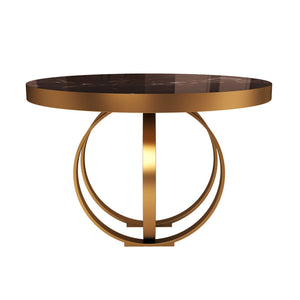 Boulder Marble Side Table - Luxury Marble Furniture