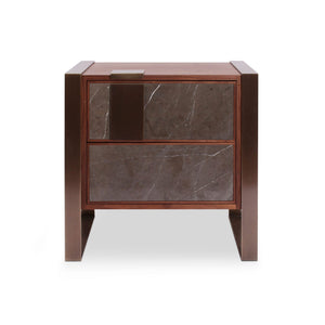 Coloma Marble Night Stand - Luxury Marble Furniture