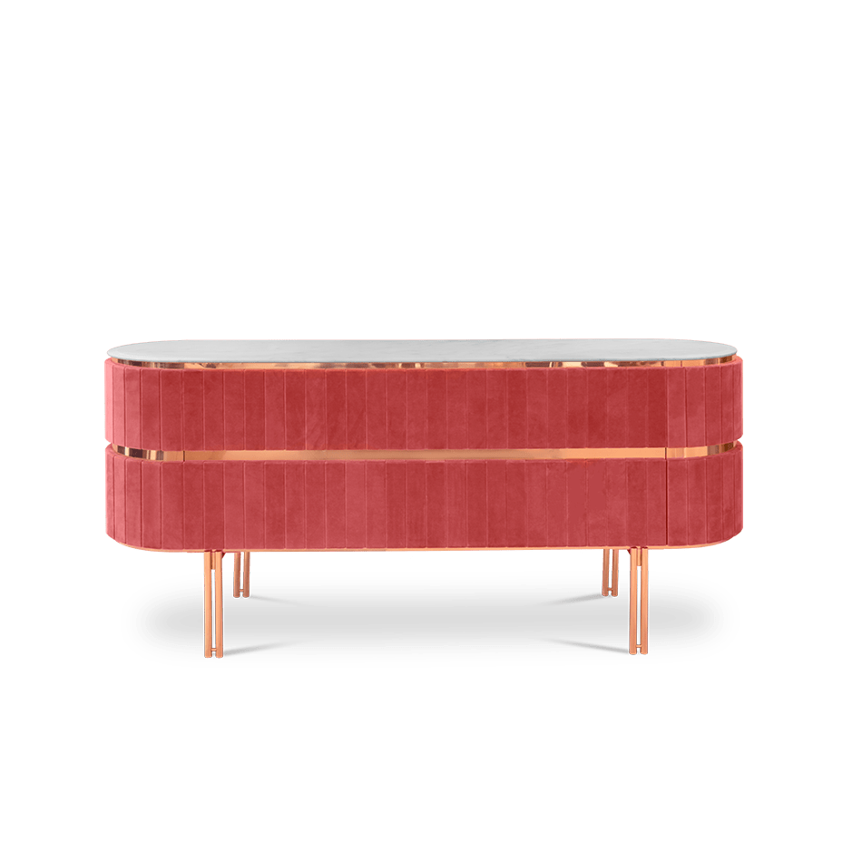 Edith Marble Side Table - Luxury Marble Furniture