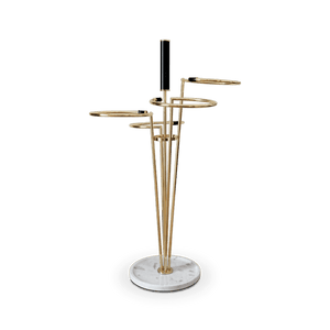 Gene Marble Umbrella Stand - Luxury Marble Furniture