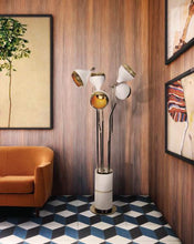 Hanna Vintage Floor Marble Lamp - Luxury Marble Furniture