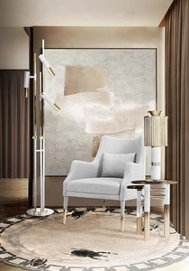 Donna Table Marble Lamp - Luxury Marble Furniture