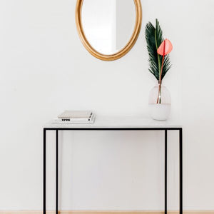 Slim One Marble Console Table