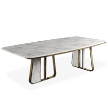 Kenai Marble Dining Table - Luxury Marble Furniture