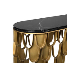 Koi Marble Console Table - Luxury Marble Furniture