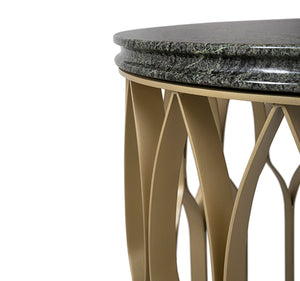 Mecca II Marble Side Table