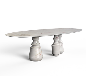 Pietra XL Marble Dining Table