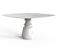 Pietra Square Marble Dining Table