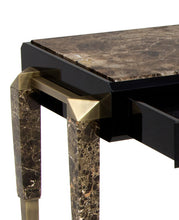 Spear Marble Console Table