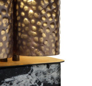 Vellum Marble Table Lamp