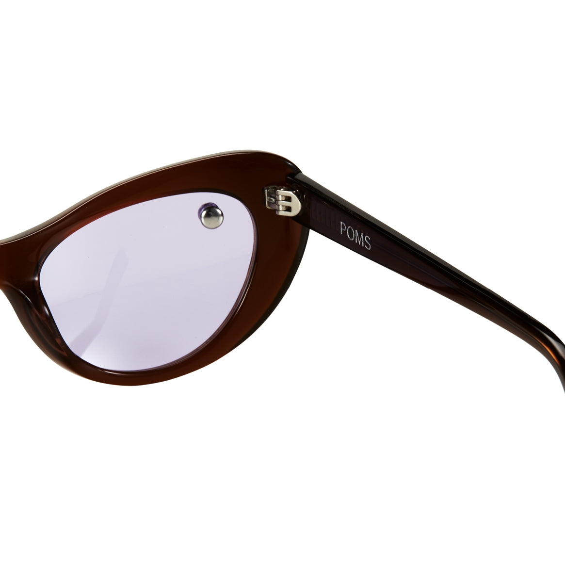 Nuovo Brown & Lilac Sunglasses