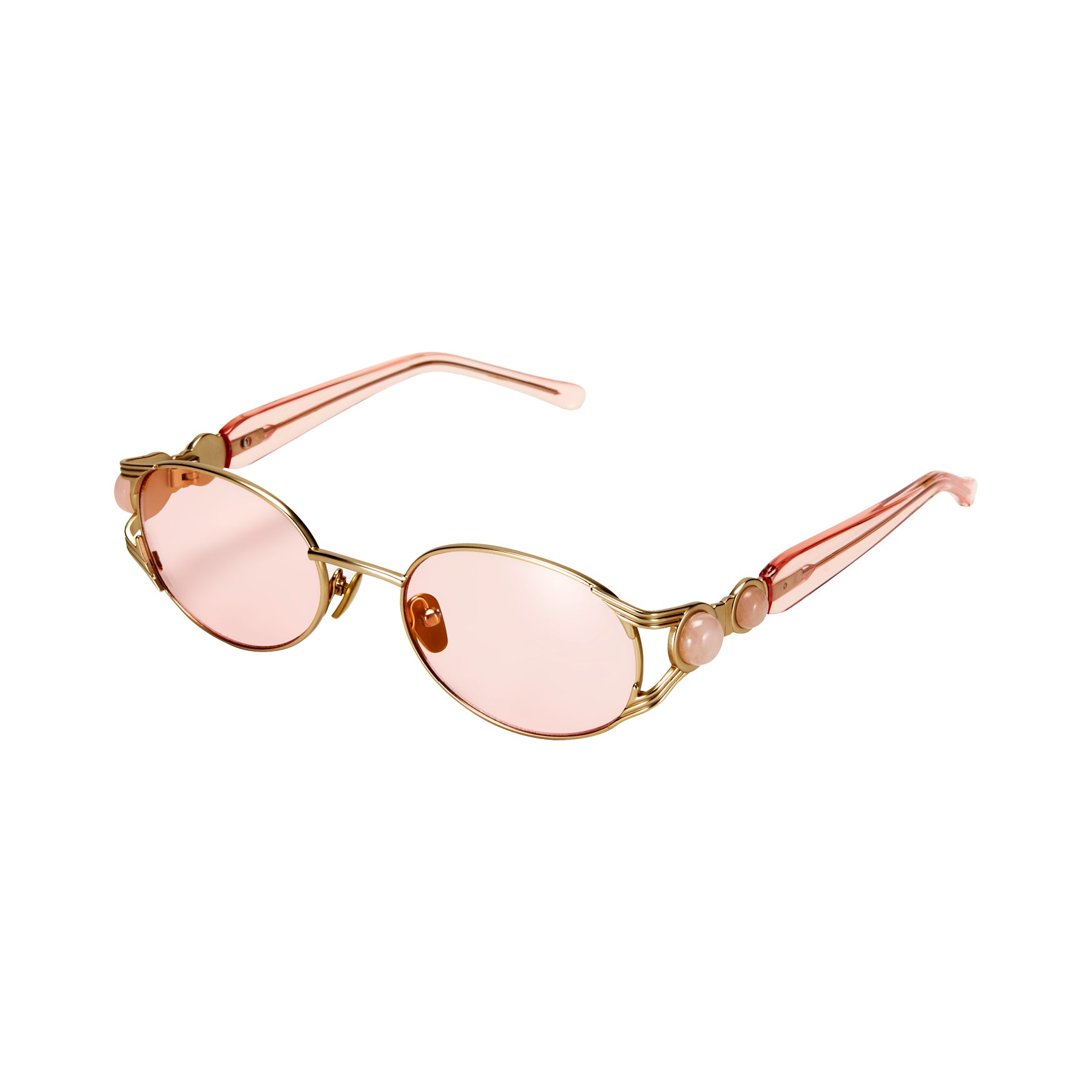 Oro Gold & Pink Sunglasses