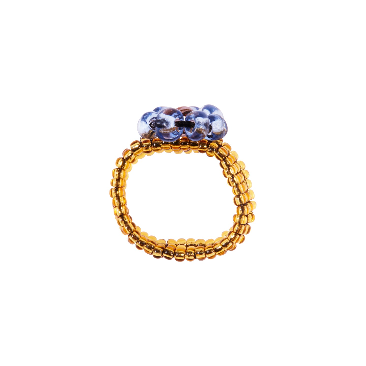 Floral Ring - Blue