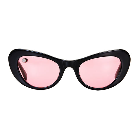 Nuovo Black & Rose Sunglasses